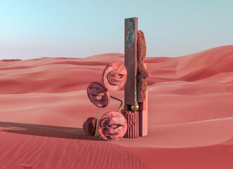 Haunting Surreal Sculpture Explorations