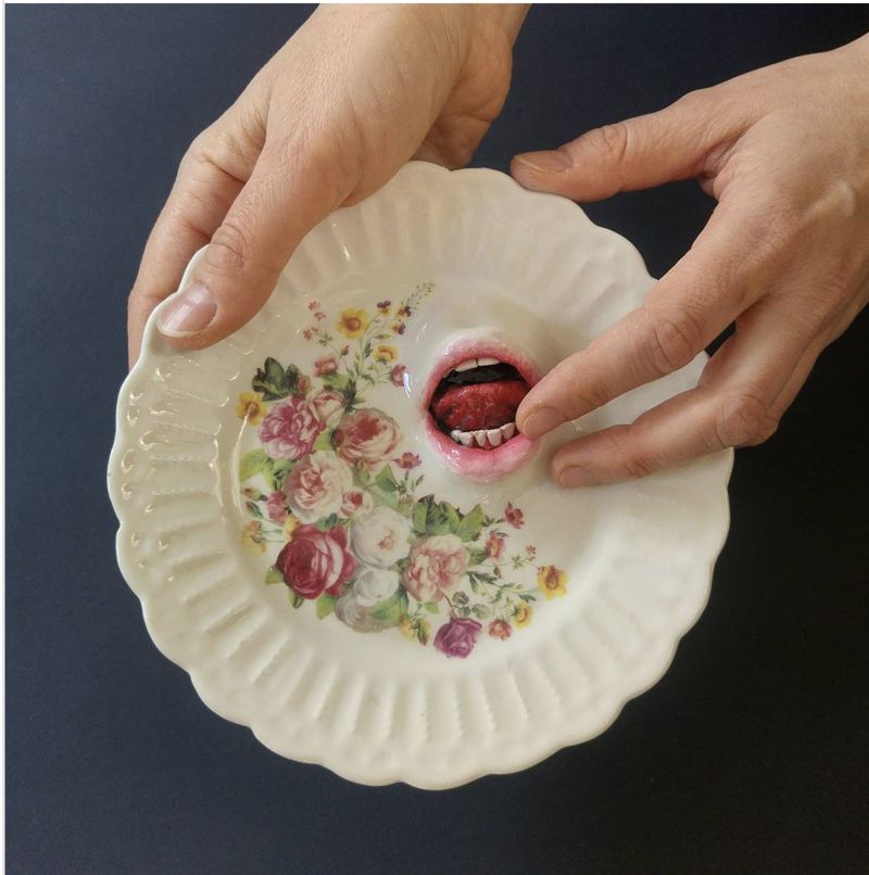 Creepy Surrealist Ceramics