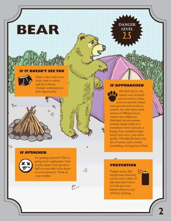 Wildlife Survival Illustrations