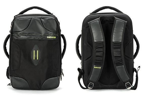 Crush-Resistant Backpacks