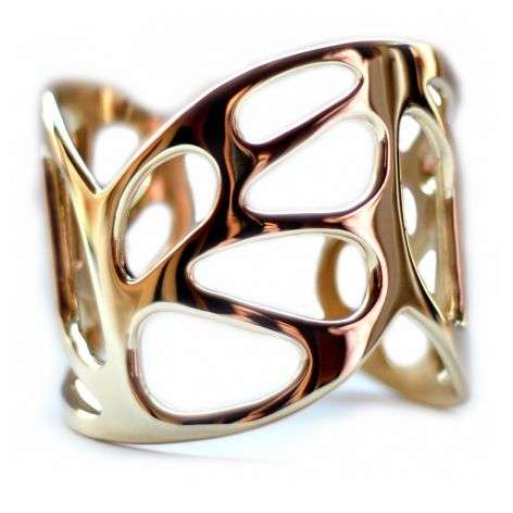 Chunky Winged Cuffs