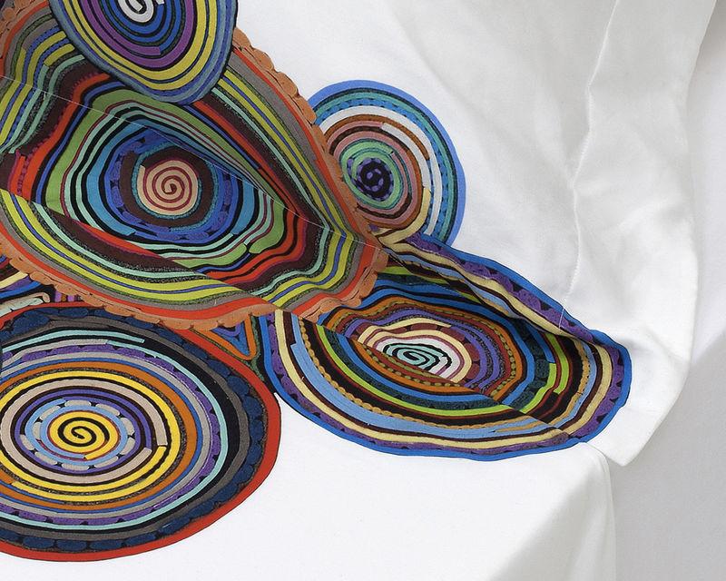Artfully Vivid Linens