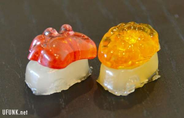 Raw Fish Candies