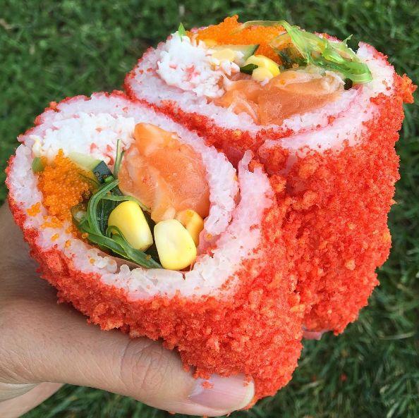 Spicy Sushi Burritos