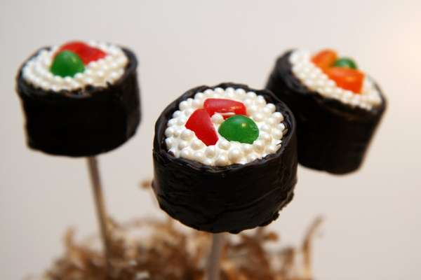 Sweet Maki-Inspired Bites