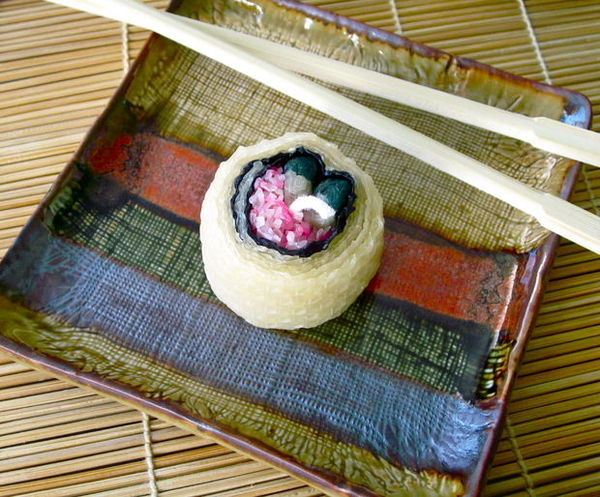 DIY Sushi Candles