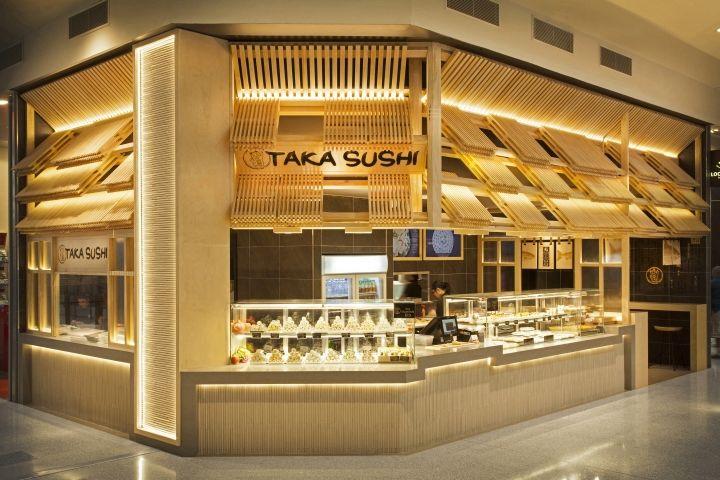 Galleria sushi kiosks kiosk