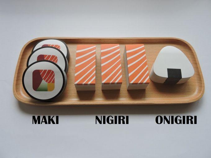 Multidimensional Sushi Stationary