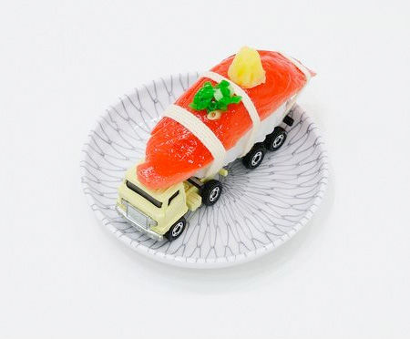 Literal Sushi Truck Structures