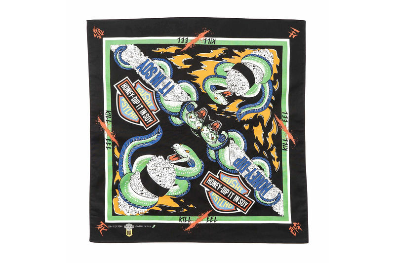 Sushi-Themed Bandanas