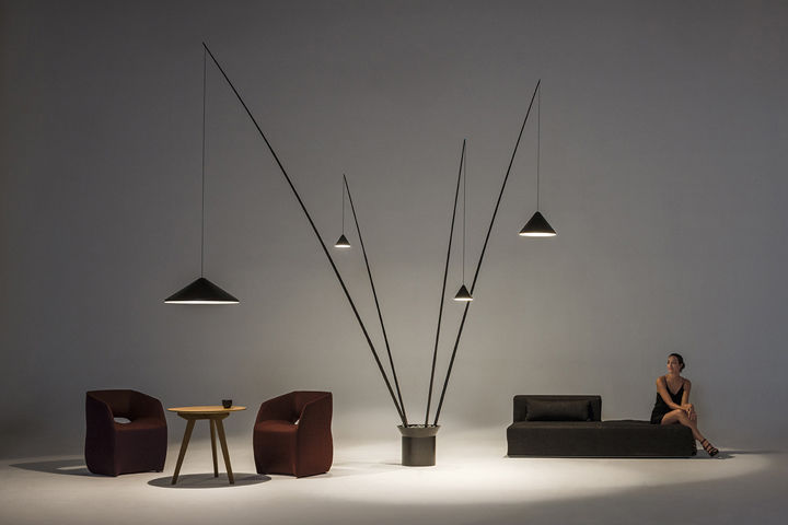 Dramatically Suspended Lamps