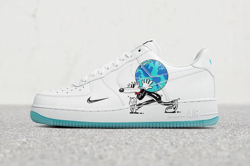 Cartoon-Esque Eco-Themed Sneakers