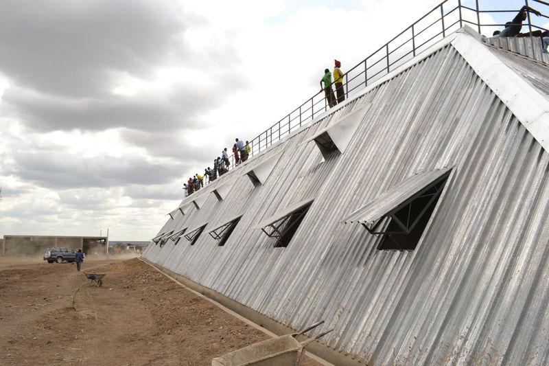 Water-Harvesting Stadium Structures