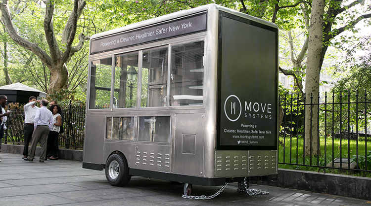 Solar-Powered Food Trucks