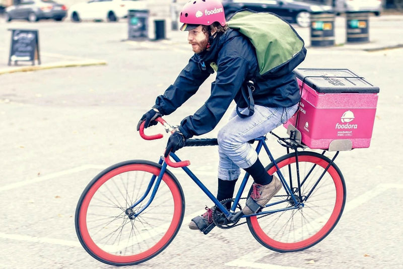 Sustainable Food Delivery Services