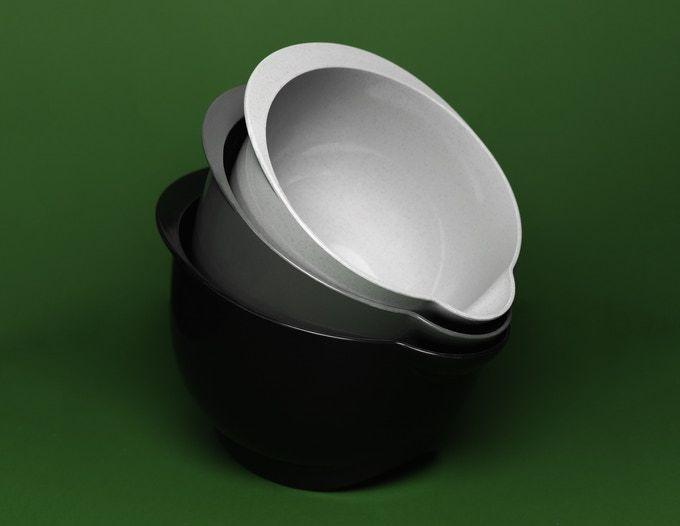 Biodegradable Kitchen Mixing Bowls