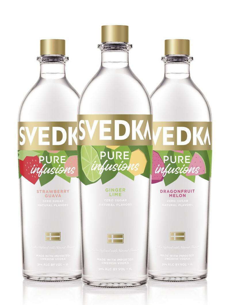 Zero-Sugar Infused Vodkas