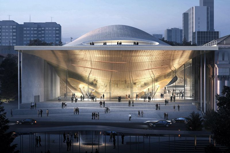 Sound Wave-Inspired Concert Halls