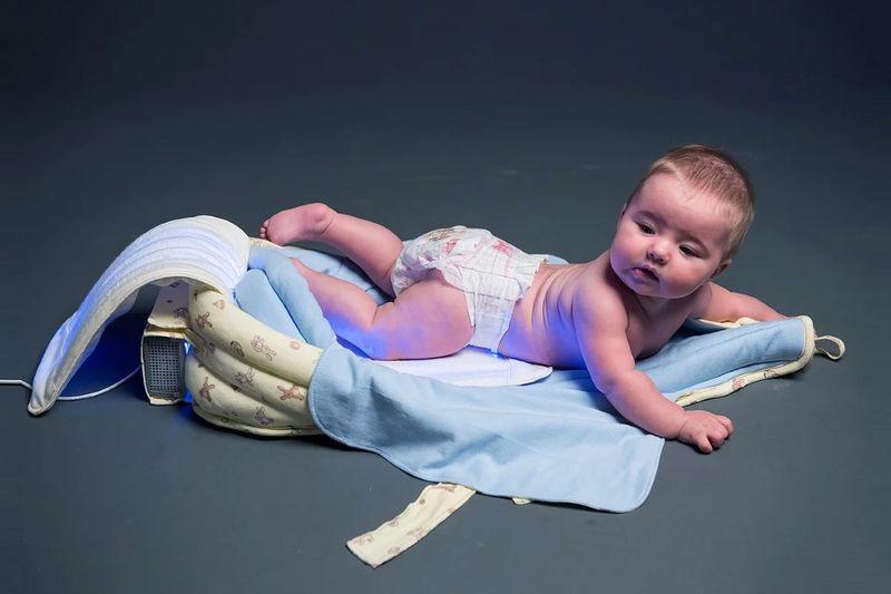 Jaundice-Fighting Baby Blankets