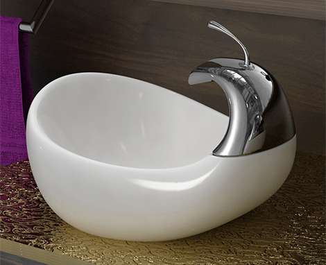 Waterfowl Sinks The Swan Vessel Sink By Amin Designs Is