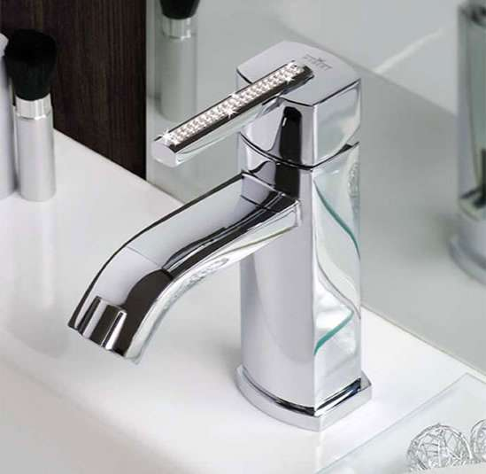 Bedazzling Sink Taps