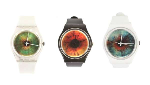 Psychedelic Retina Timepieces