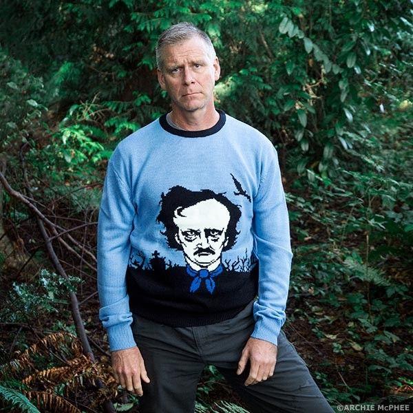 Deceased Poet Sweaters