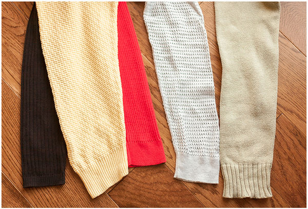 Upcycled Sweater Warmers
