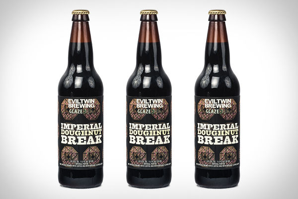 Syrup Donut-Flavored Beers