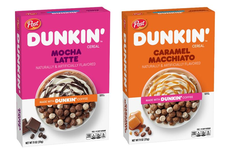 Coffee-Themed Breakfast Cereals