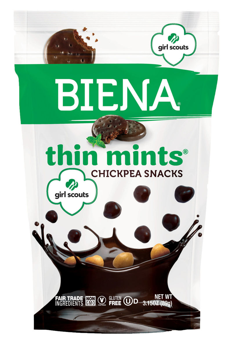 Cookie-Flavored Chickpea Snacks