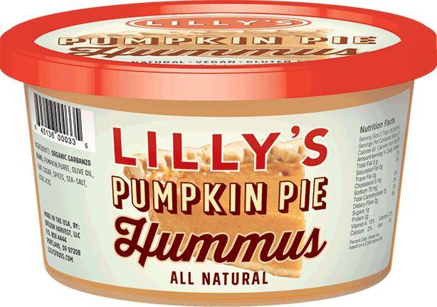 Pumpkin-Flavored Hummus Dips