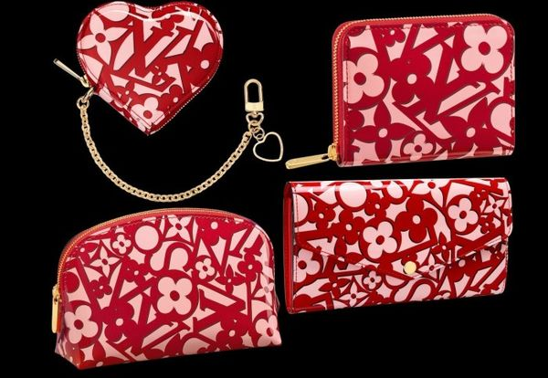 Heart-Patterned Designer Purses