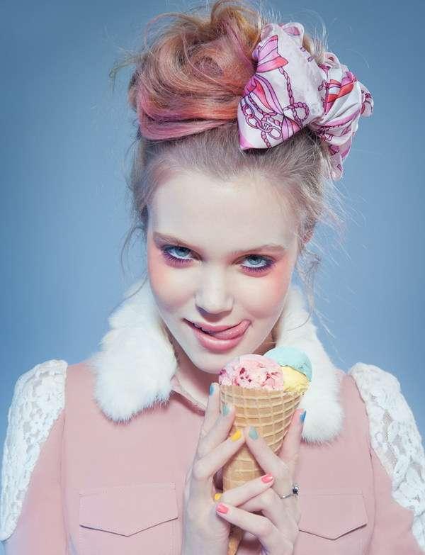 Coy Preppy-Pink Captures