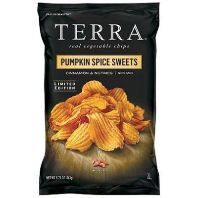 Pumpkin Spice Potato Chips