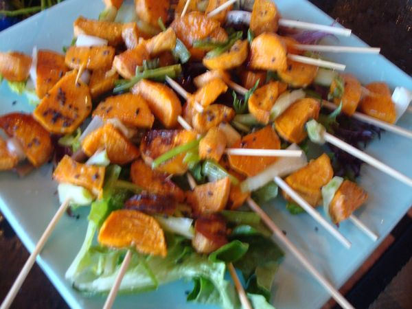 Spicy Skewered Meal Starters