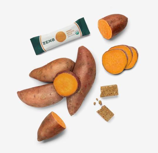 Sweet Potato Snack Bars
