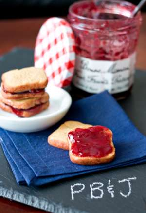 Mouthwatering PB&J Cookies