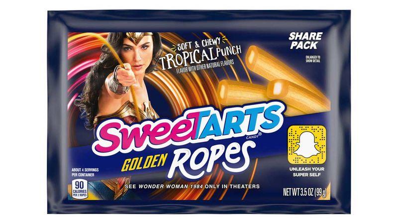 Superhero-Branded Licorice Ropes
