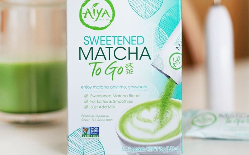 Individually Packaged Matcha Drinks
