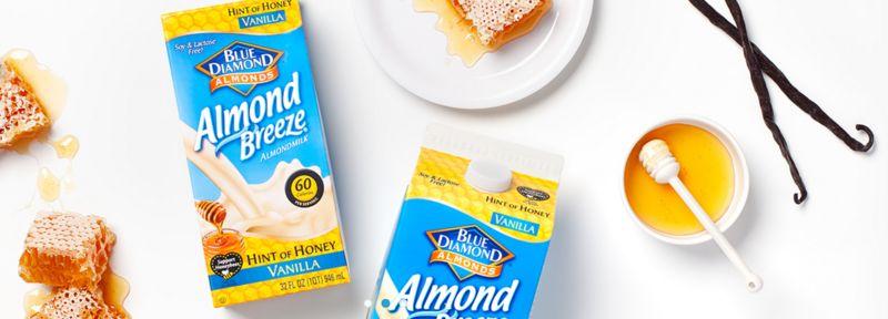 Naturally Sweetened Almond Milks