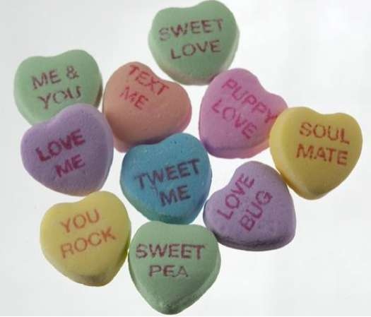 Geeky Valentine Sweets