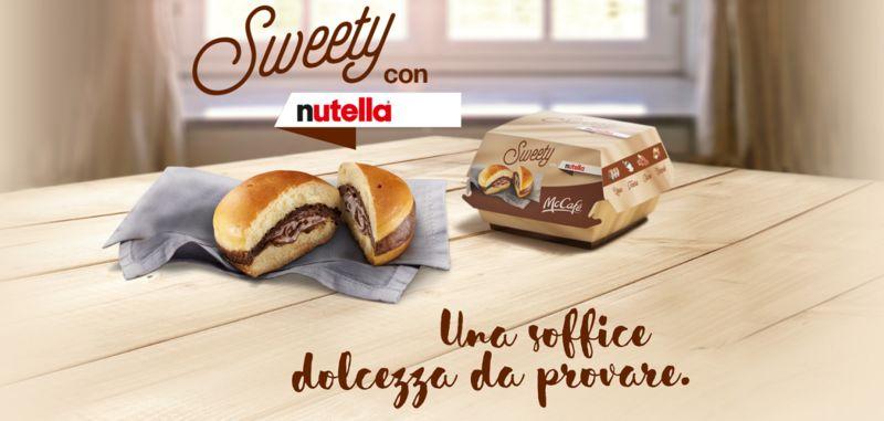 Chocolate Spread-Stuffed Burgers