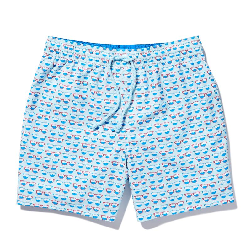 Dapper Dual-Sided Swimwear