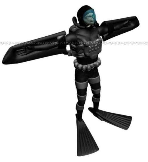 Subaquatic Exoskeletons