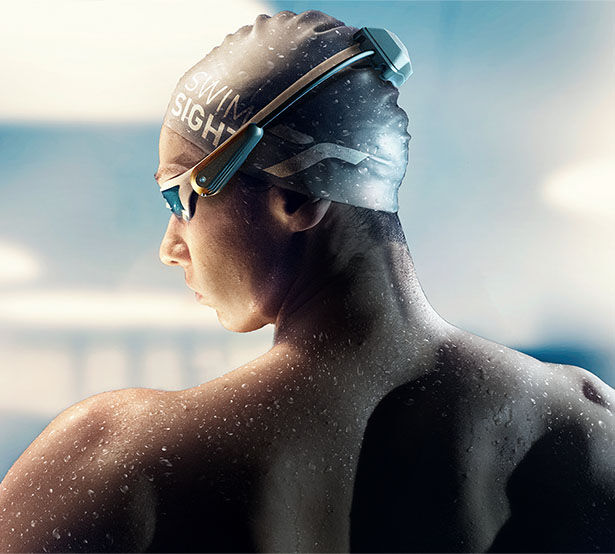 Visually Impaired Swimmer Wearables