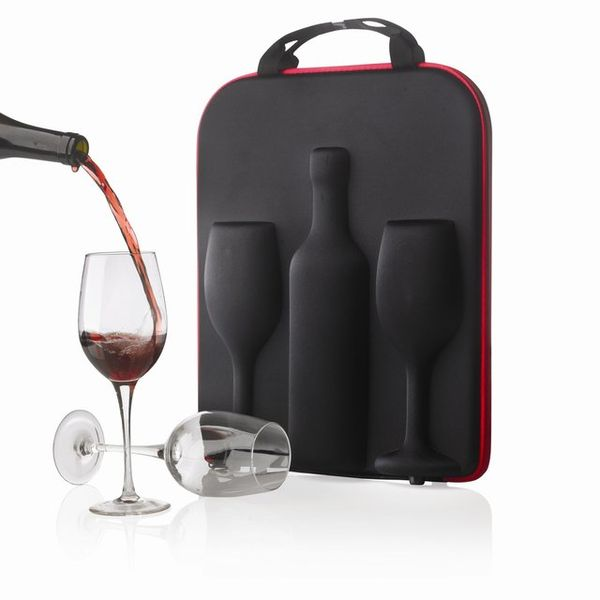 Sleek Transportable Wine Carriers