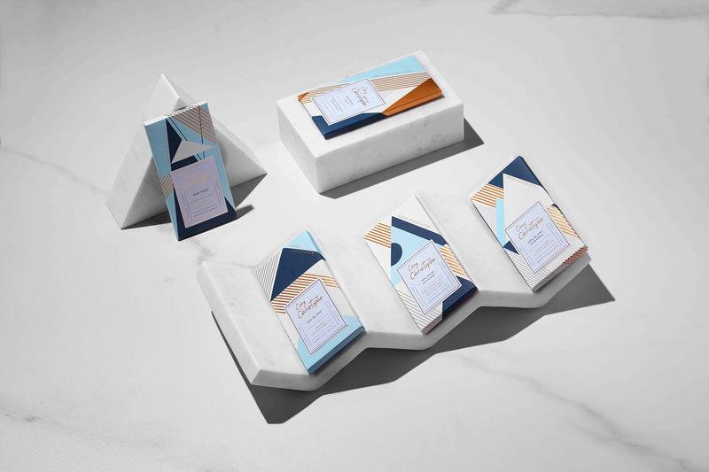 Art Deco Chocolate Packaging