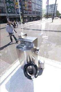 Glass Toilet Cubicles
