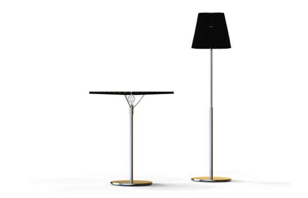 Retractable Table Lamps